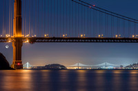 15.Golden Gate Moonrise